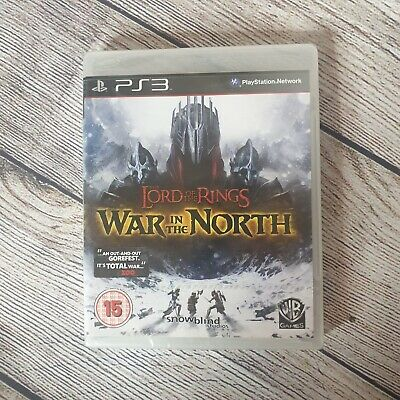 Lord Of The Rings War In The North Ps3 Playstation Game New