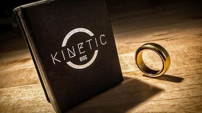 Kinetic PK Ring (Gold) Beveled size 10 by Jim Trainer -