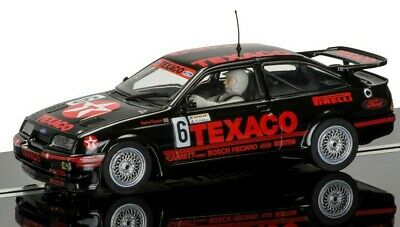 """New Boxed Scalextric 1:32nd Scale Ford Sierra RS500 """"Steve"""