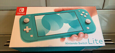 Nintendo Switch. Lite Turquoise Immaculate Condition