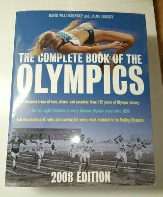 The Complete Book Of The Olympics by David Wallechinsky