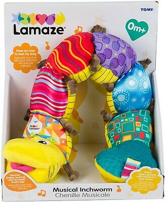 Lamaze Musical Inchworm Baby Toy With Sounds *BRAND NEW*