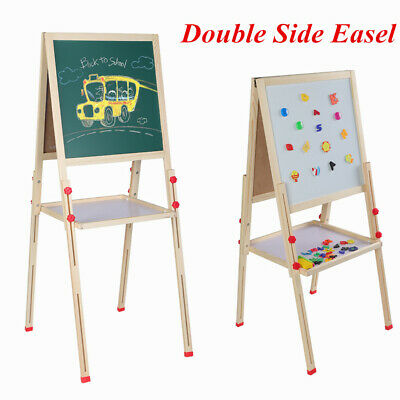 Sturdy Kids Art Double Sided Magnetic 3IN1 Easel Chalk