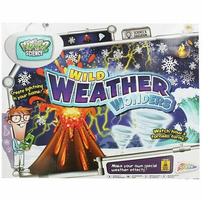Grafix Weird Science Wild Weather Wonders Experiment Kit