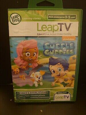 LeapFrog LEAPTV Leap Tv BUBBLE GUPPIES Learning Game
