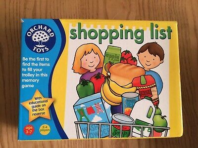 Orchard Toys Shopping List Educational Game