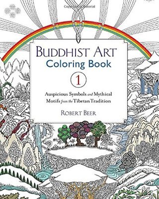 BEER, ROBERT-BUDDHIS T ART COLORING BOOK 1 BOOK NEW