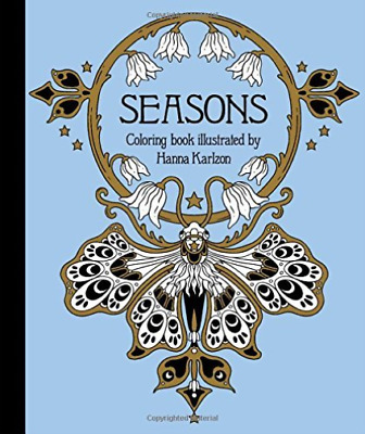 Karlzon Hanna-Seasons Coloring Book BOOK NEW