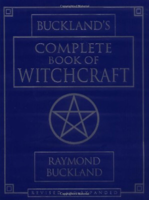 RAYMOND BUCKLAN-BUCKLA NDS COMPLETE BOOK OF WITCHC BOOK NEW