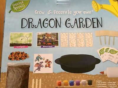 Grafix Grow and Decorate your Own Dragon Garden (New But Box