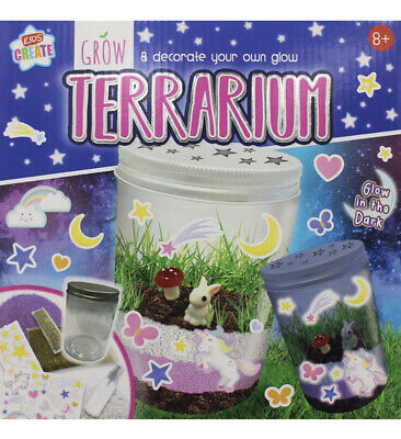 Grow and Decorate Your own Glow Terrarium Creative Children