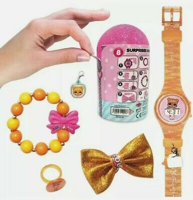 LOL Dolls Surprise Make Your Own Jewellery Watch Capsule Toy