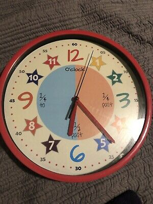 Learn To Tell The Time Clock