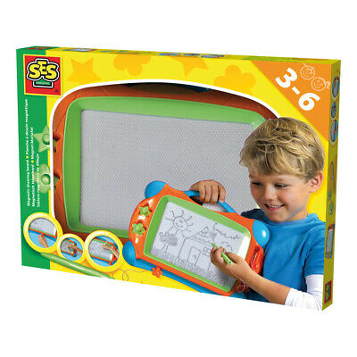 NEW! Ses Creative Magnetic Drawing Board Unisex Ages Three