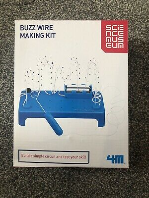 Science Museum Buzz Wire Making Kit Activity Craft Kids NEW