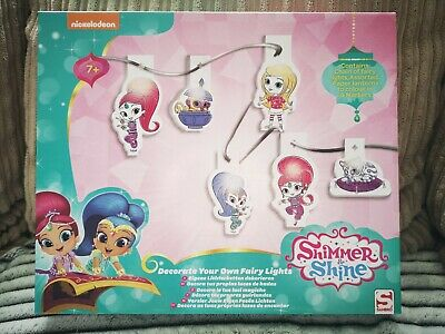 Shimmer & Shine Decorate Your Own Fairy Christmas Lights
