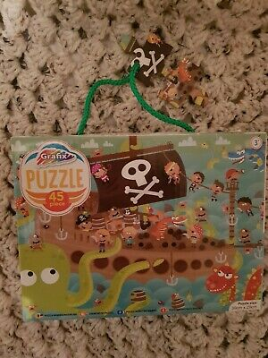 Sea Monsters and Pirates Puzzle 45 Pieces Kids 3+ 40x30