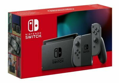 Nintendo Switch Grey Console (Improved Battery) ***BRAND
