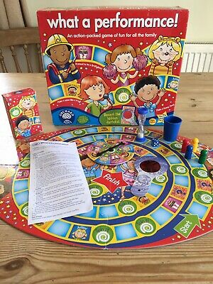 Orchard Toys 047 What a Performance! Family Board Game