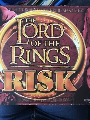 Risk Lord Of The Rings Board Game By Parker /Hasbro