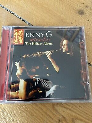 Kenny G - Miracles: The Holiday Album - Kenny G CD USA ISSUE