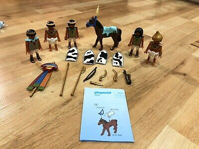 Playmobil  Complete Set Egyptian Soldiers Troop with