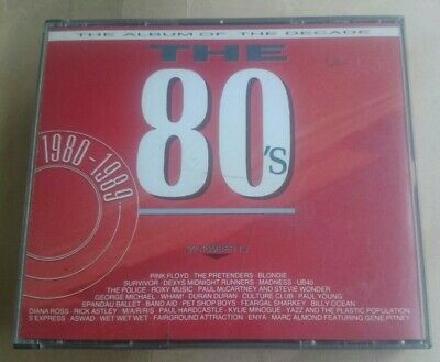 The Album Of The Decade The 80s  Various Artists CD