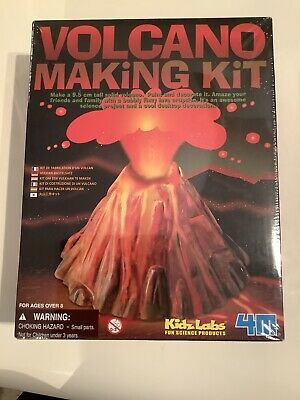 Kids Toy Volcano Making Kit KidsLab Fun Science Brand New