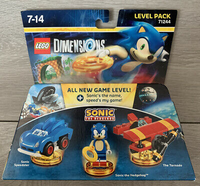 LEGO DIMENSIONS  SONIC THE HEDGEHOG LEVEL PACK MINT