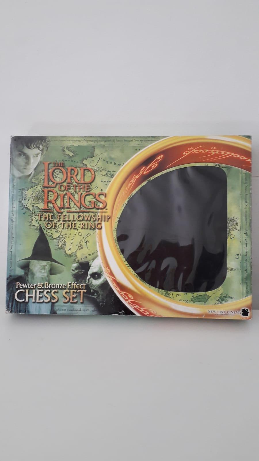 Lord of the Rings chess set. Brand new. £