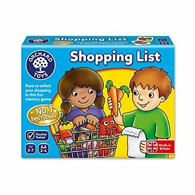 Shopping List Game - Suitable for ages 3 - 7