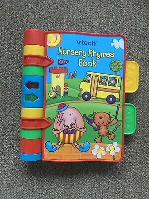 VTech Nursery Rhymes Book musical, good working condition