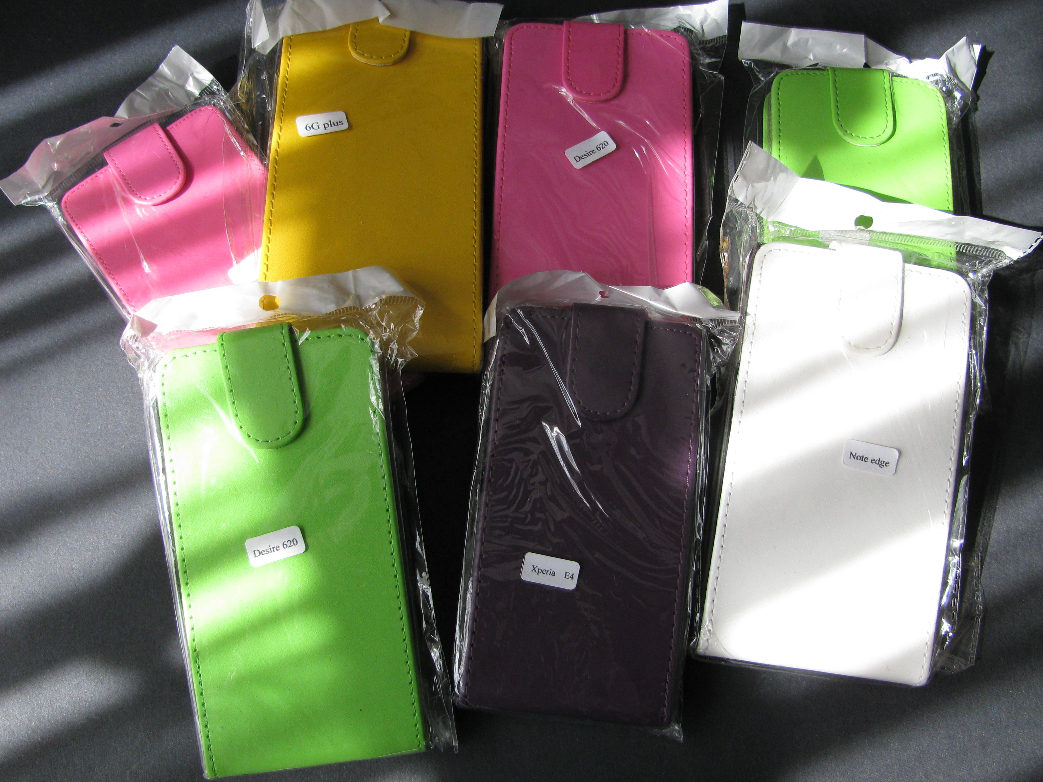 9 x Smart Phone Cases - Assorted Bundle - New in Packets