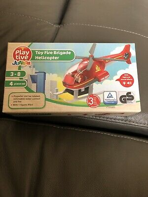 Playtive Junior toy fire brigade helicopter