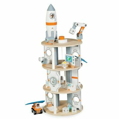 Tidlo Space Station Wooden Toy Play Fun Educational BRAND