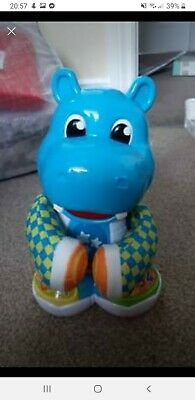 Baby Clementoni Philip The Dancing Hippo Baby Toy Bilingual