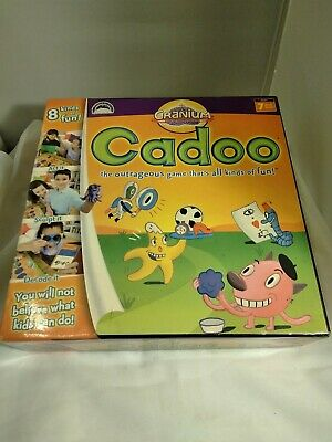 Cranium Cadoo Family Children Toy Board Game Great Condition