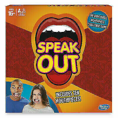 Hasbro Gaming Speak Out Card Timer Family Fun Funny