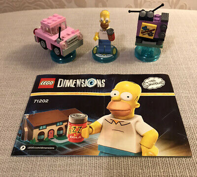 Lego Dimensions Homer Simpson Simpsons Level Pack