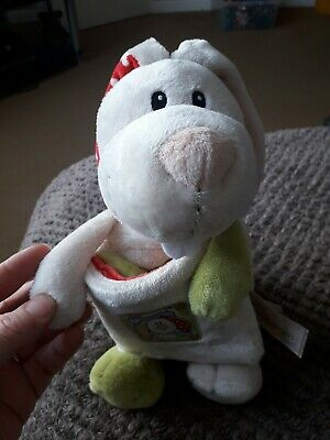 Nici Rabbit With Soft Book - First My Baby 28cm Bunny Plush