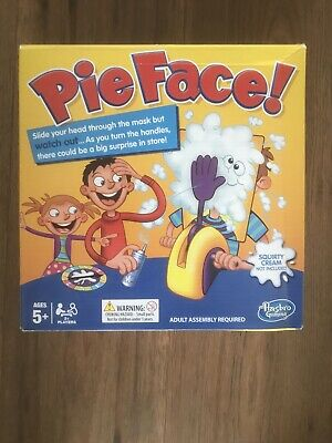 Pie Face - Fun Filled Family Game of Suspense By Hasbro New