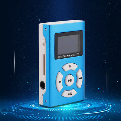 32GB MP3 Player Portable Clip USB LCD Music Play FM Support