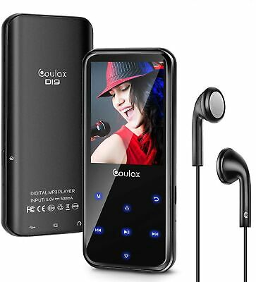 MP3 Player, COULAX 16GB MP3 Player with Bluetooth, Portable