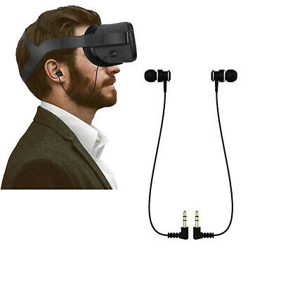 2X For Oculus Quest VR Headset Stereo In-ear Earphones
