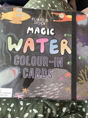 Floss & Rock Deep Sea Magic Water Colour In Cards Letters