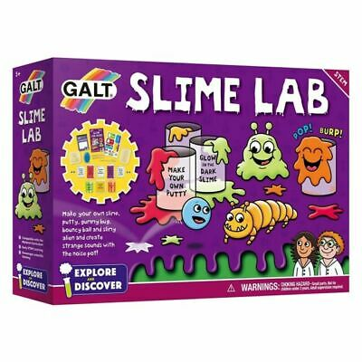 Galt Toys Slime Lab Kit Glow Slime with Noise Pot Glow