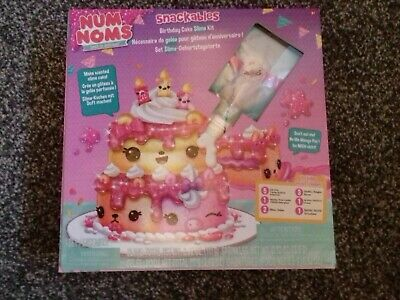 Num Noms Snackables Birthday Cake Kit - New in Packaging