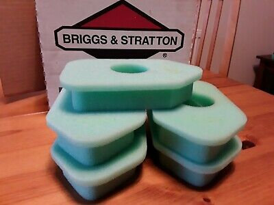 Genuine Briggs and Stratton Air Filter S Classic green