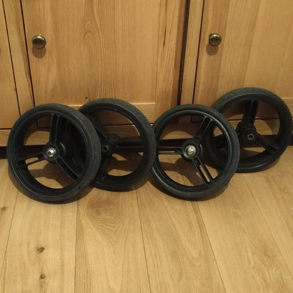 Mountian Buggy Wheels (×4) For Pushchair