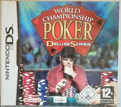 Nintendo Ds game World championship poker deluxe edition